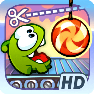 Взломанный Cut the Rope для Android. Веревка, леденец, Ам Ням