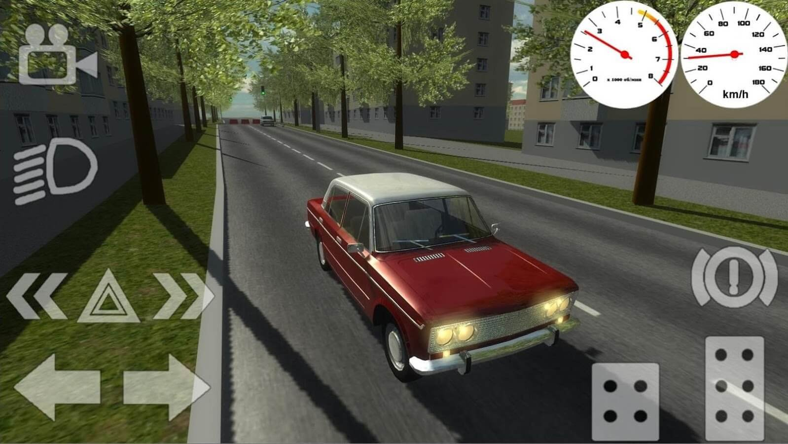Взломанный Russian Classic Car Simulator для Android