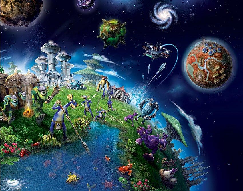 Скачать игру Spore Origins ля Android бесплатно